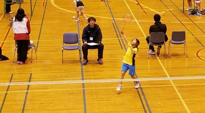試合結果(2019/02/24「第26回岐阜県小学生バドミントンシングルス大会(低学年の部)」)